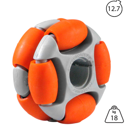 rotacaster-48mm-double-65a-medium-polyurethane-roller-12.7mm-keyed-bore